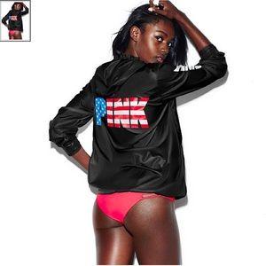 VS PINK Americana Anorak Windbreaker Jacket